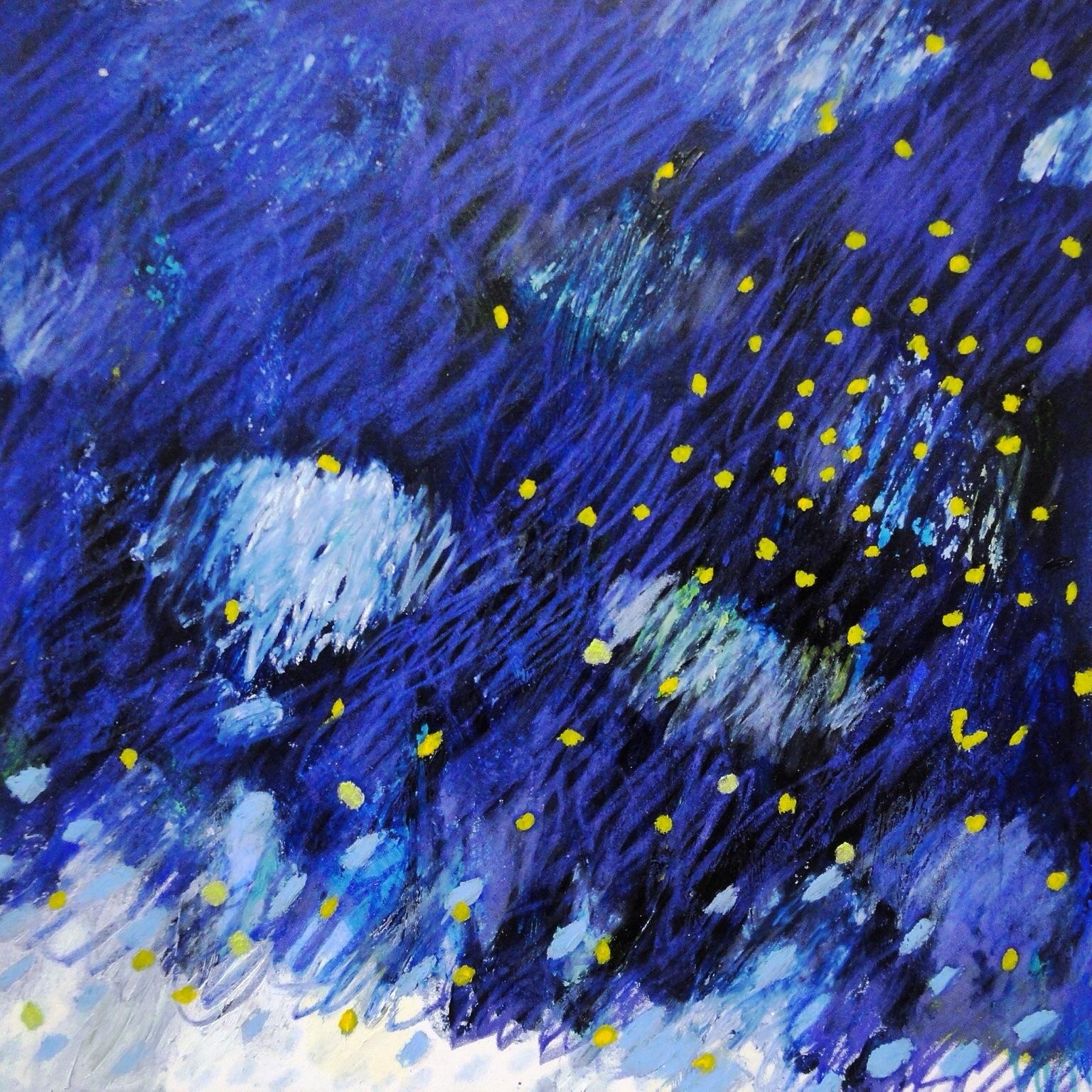 in the indigo clouds 2014