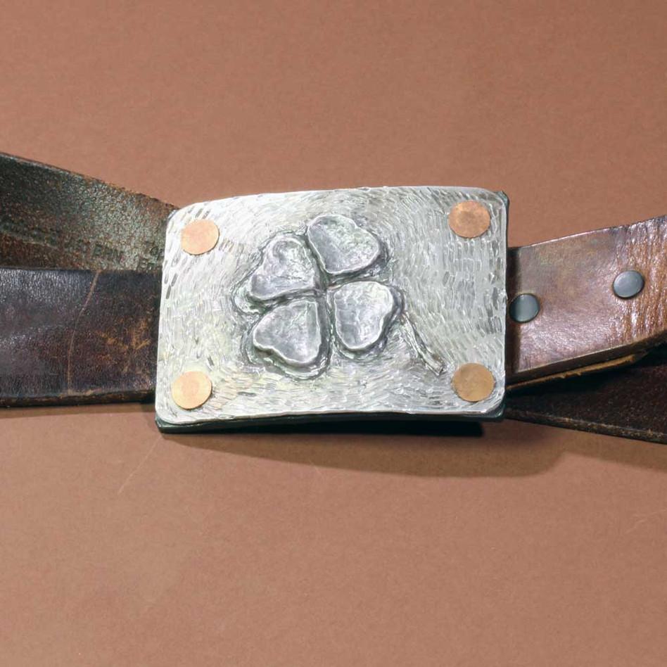 Clover Belt Buckle