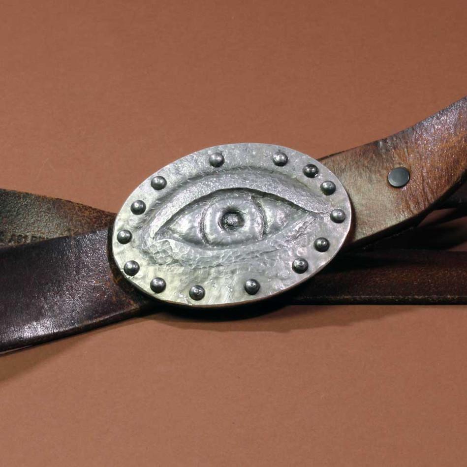 Eye shaped Belt Buckle