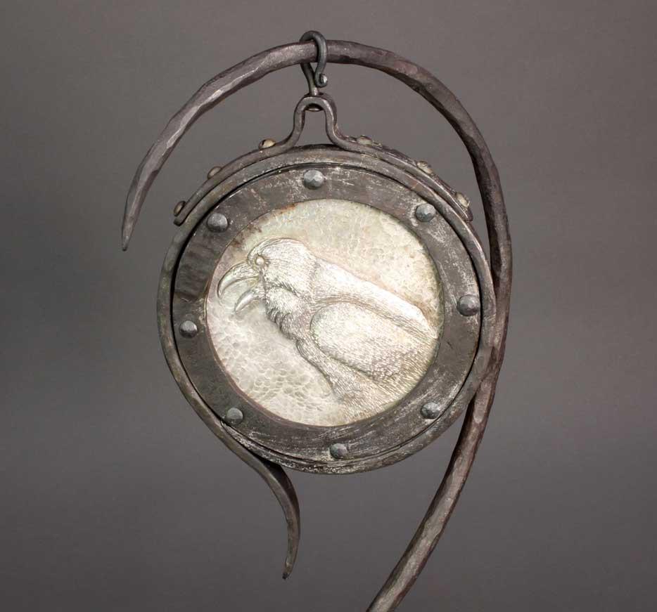 Raven Mirror Detail