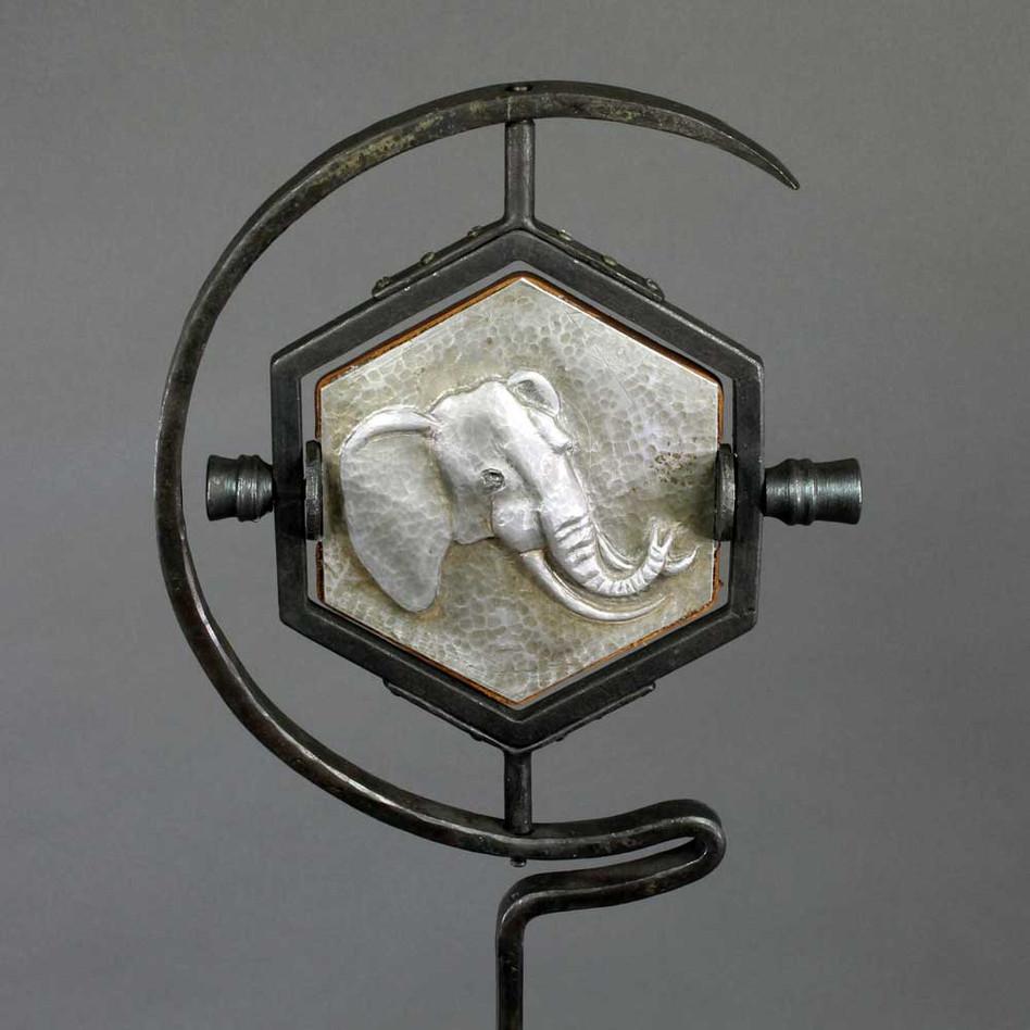 Elephant Mirror Detail
