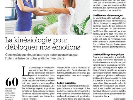 La kinésiologie pour débloquer les émotions