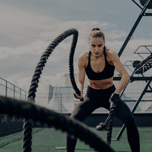 Battle rope HIIT