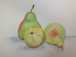 SOLD Three Pears