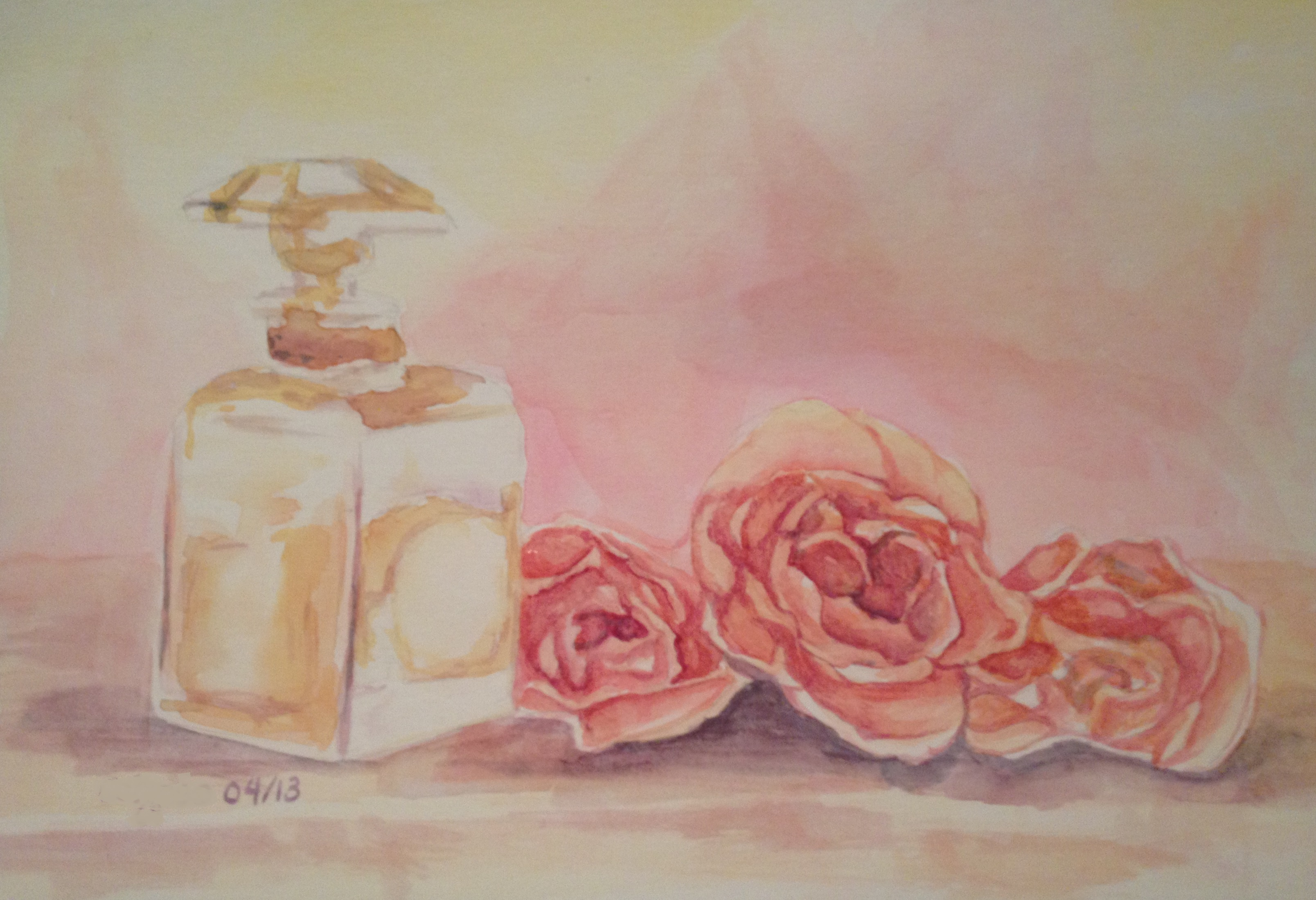 SOLD Parfume Roses