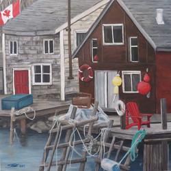 Herring Cove Wharf, 2014