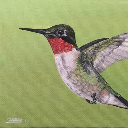 Flying Humming Bird, 2018