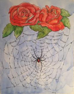Black Widow & Roses