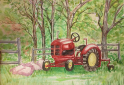 SOLD Tractor