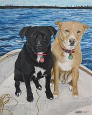 Boating Pair