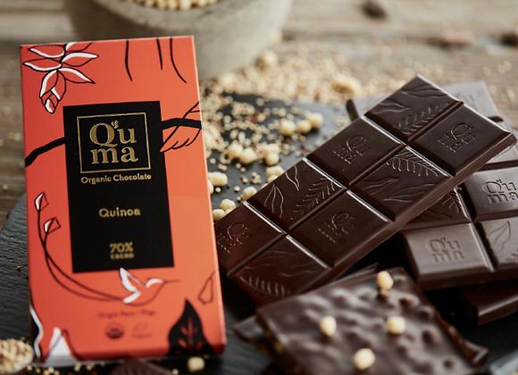 Chocolat noir au quinoa