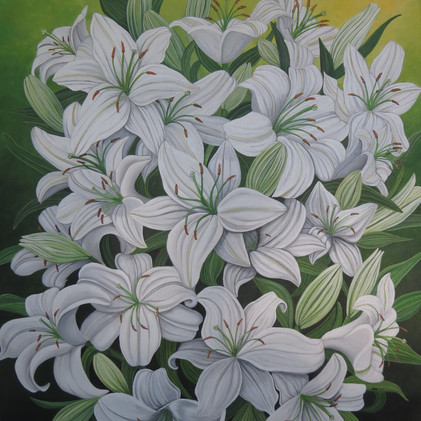 White Lilies, 2017