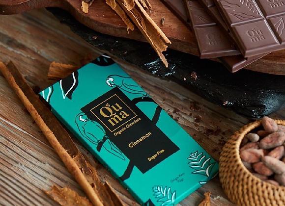 Chocolat noir à la cannelle (diabètique - sans sucre)