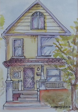 Yellow Ink House