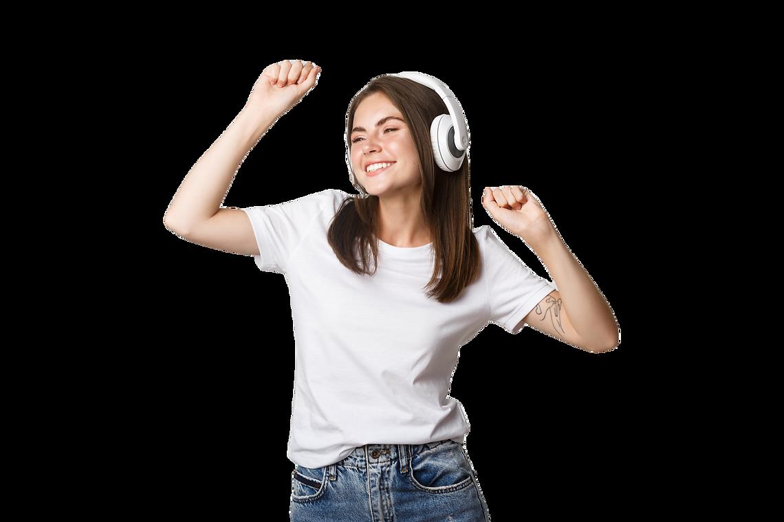 carefree-attractive-girl-dancing-listeni