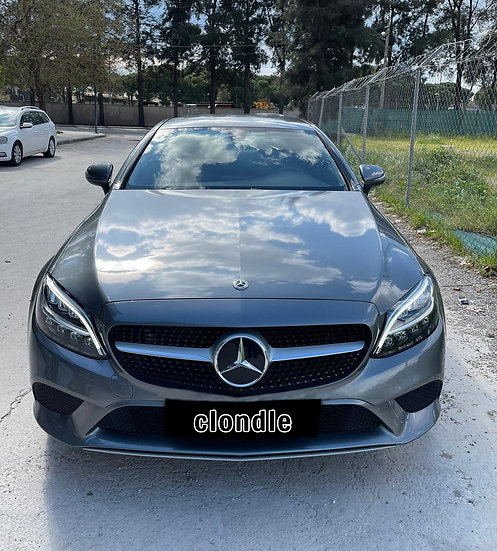 Mercedes C 200 Coupe AMG