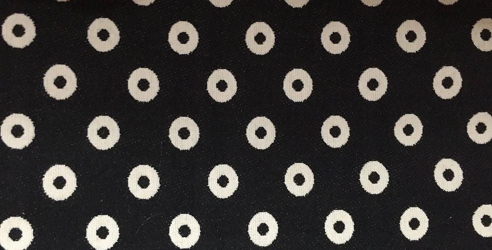Black and White Eyelets