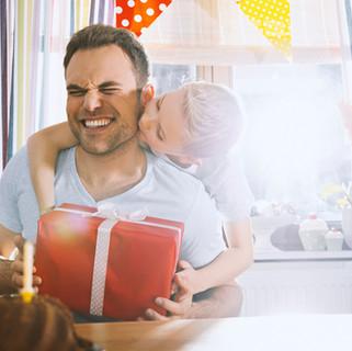 Vitrina de regalos para papá
