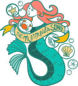 The Mermaids song Logo FINAL color