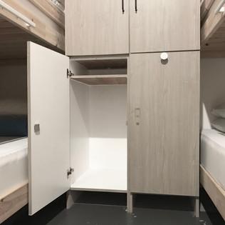 Faloe Hostel - Personal Locker with Lock