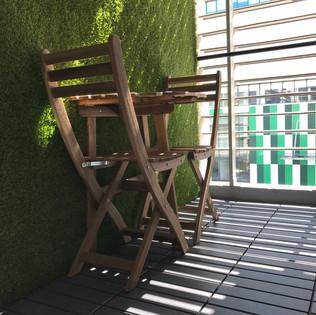 Faloe Hostel - Balcony or Smoking Area
