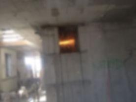 ניסור פתח חלון בבטון