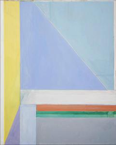 Richard Diebenkorn. Ocean Park N. 29. 1970. Óleo sobre tela (OST), 255cm x 277cm. Dallas Museum of Art, Dallas, EUA.