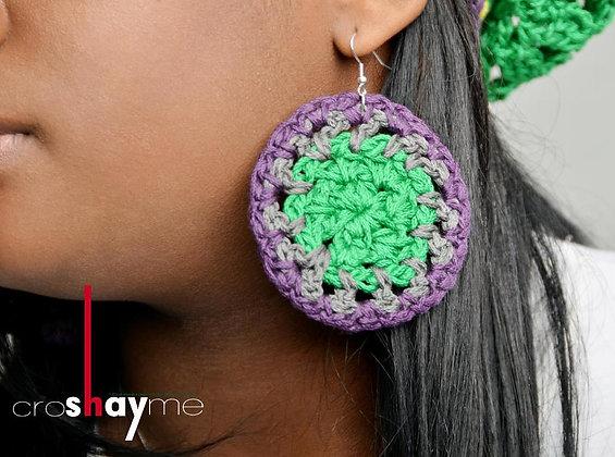Alicia™ Circle Earrings