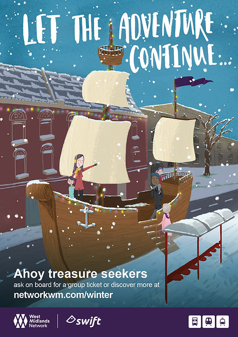 Winter ticketing campaign_Posters_pirate