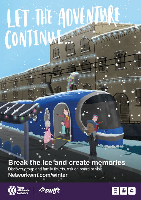 Winter ticketing campaign_Posters_submar