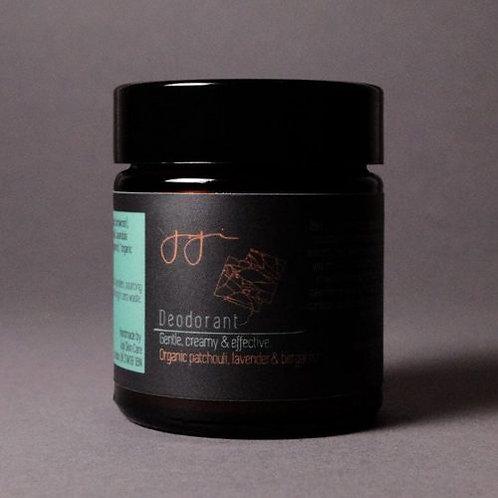 Natural Deodorant Patchouli, Bergamot & Lavender