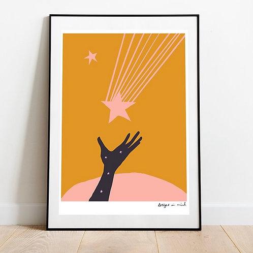 A3 Print - Catch a falling star