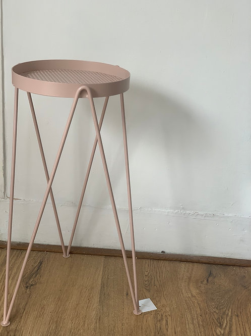 Dusty Pink Large Plant Stand