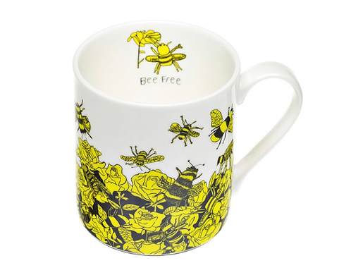 Bee Free Bone China Mug
