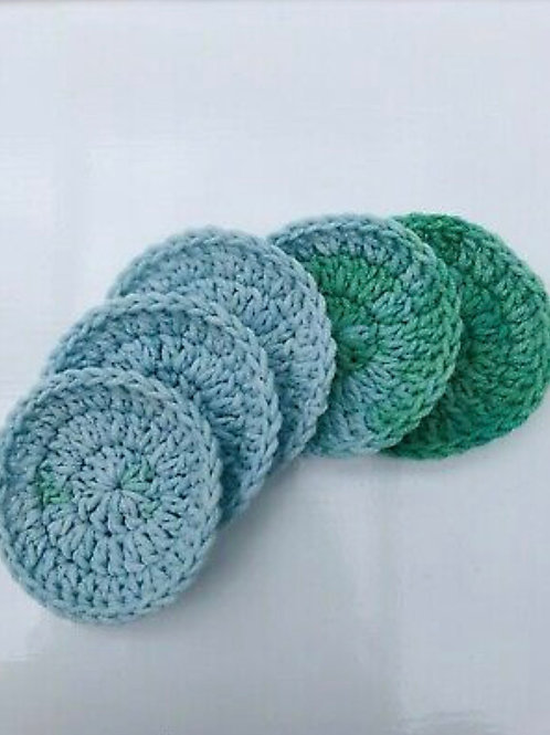 Set Of 2 Reusable Face Scrubbies