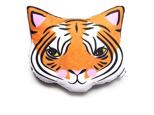 Tiger cushion softie plush- Blue