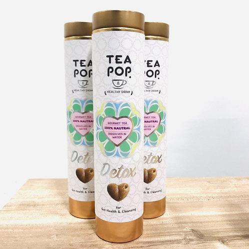 Detox Tea Pops- 8 Pop Tube