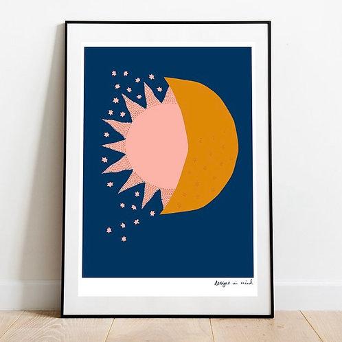 A3 Print- Eclipse