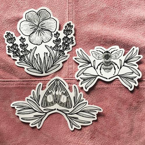 Botanical Vinyl Sticker Pack