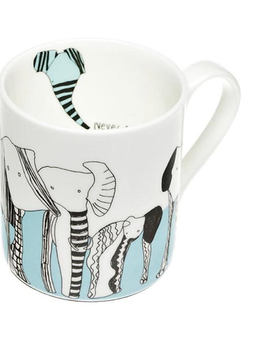 Never Forget Bone China Mug