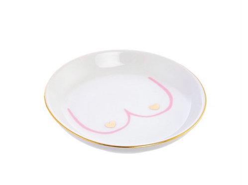 Girl Power Boobies Trinket Dish