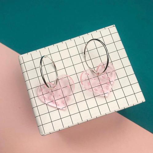 Love Sprinkles Acrylic Earrings