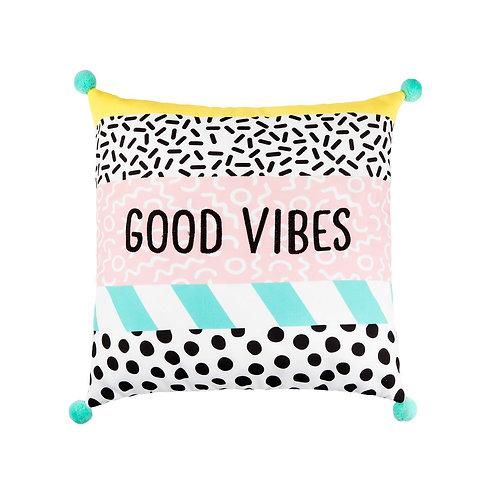 Memphis 'Good Vibes' Cushion