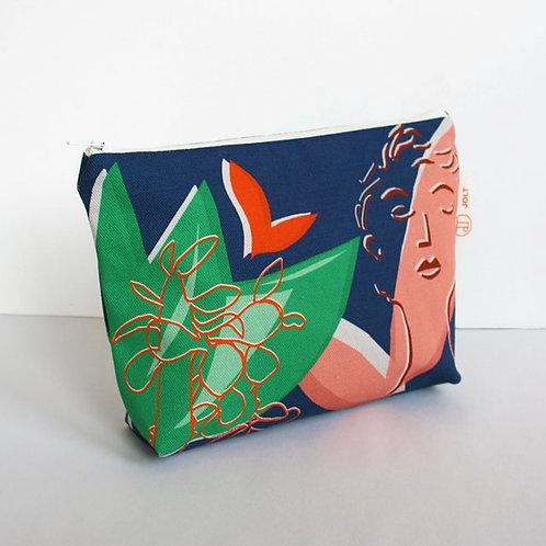 Eden Blue Make Up Bag