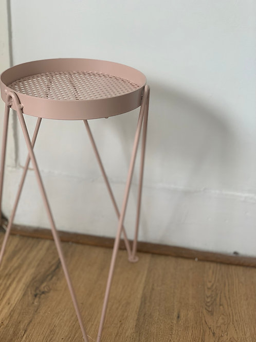 Dusty Pink Small Plant Stand