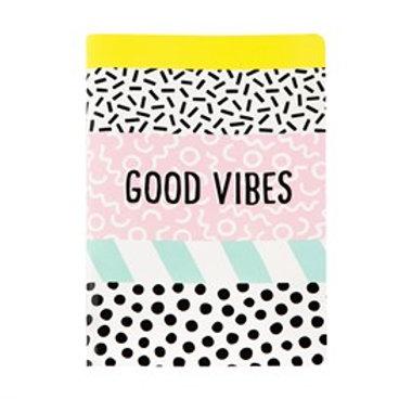 Memphis 'Good Vibes' A5 Notebook