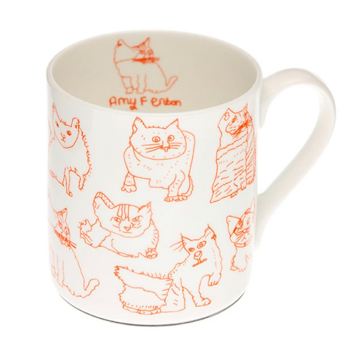 Cats Bone China Mug