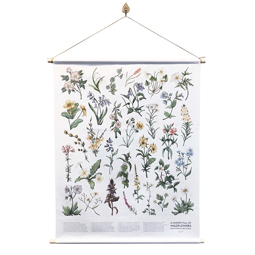A Garden Of Wild Flowers Wall Hanging