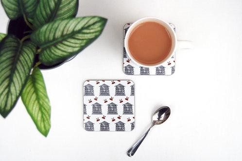 Izzi Rainey- Beehive Set Of 4 Coasters