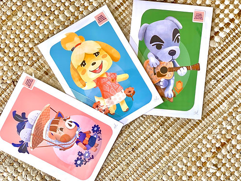 Animal Crossing Prints